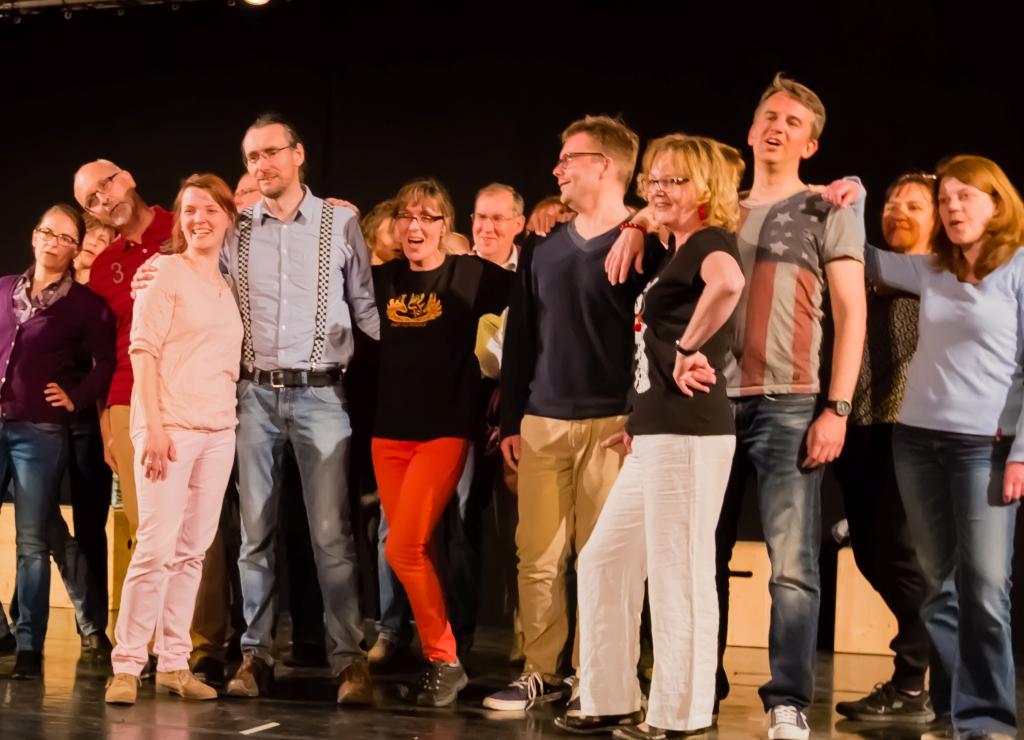 Voicetoys Konzertprobe 2015