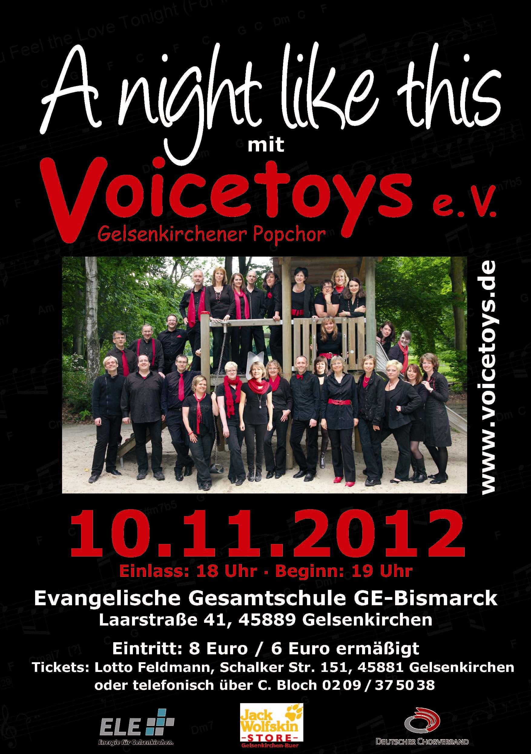 Plakat Konzert November 2012