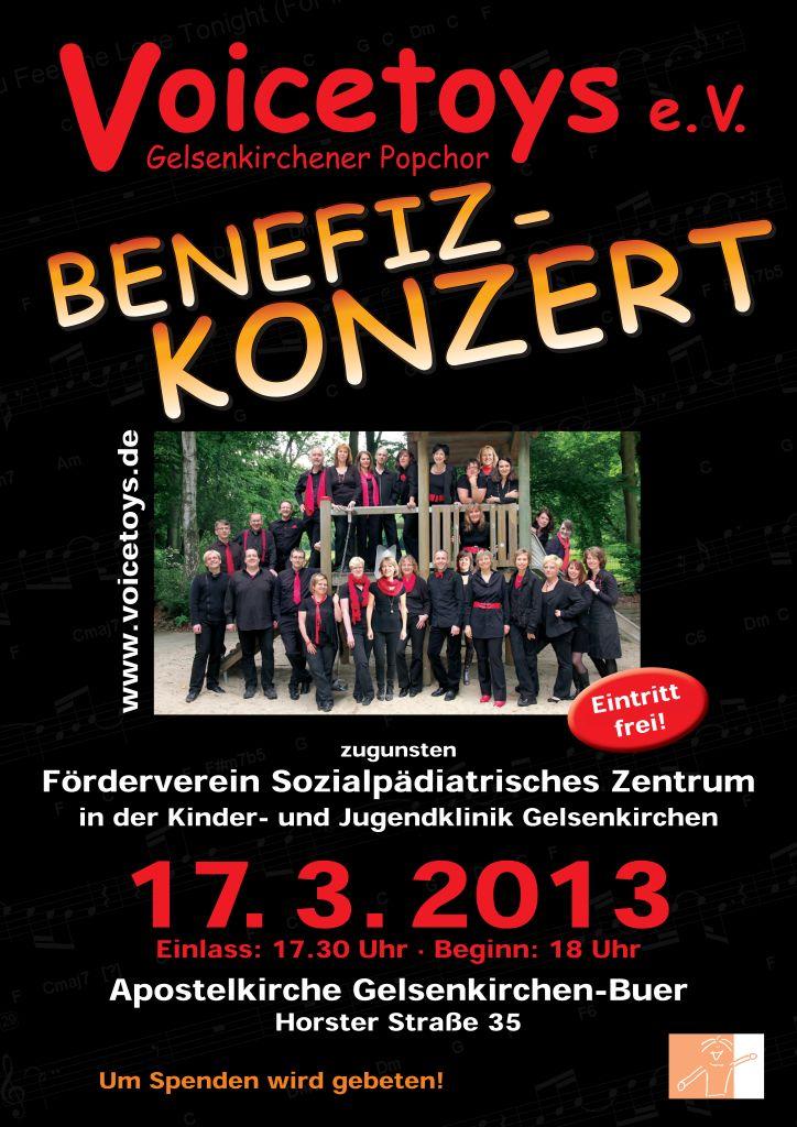 Plakat Konzert März 2013