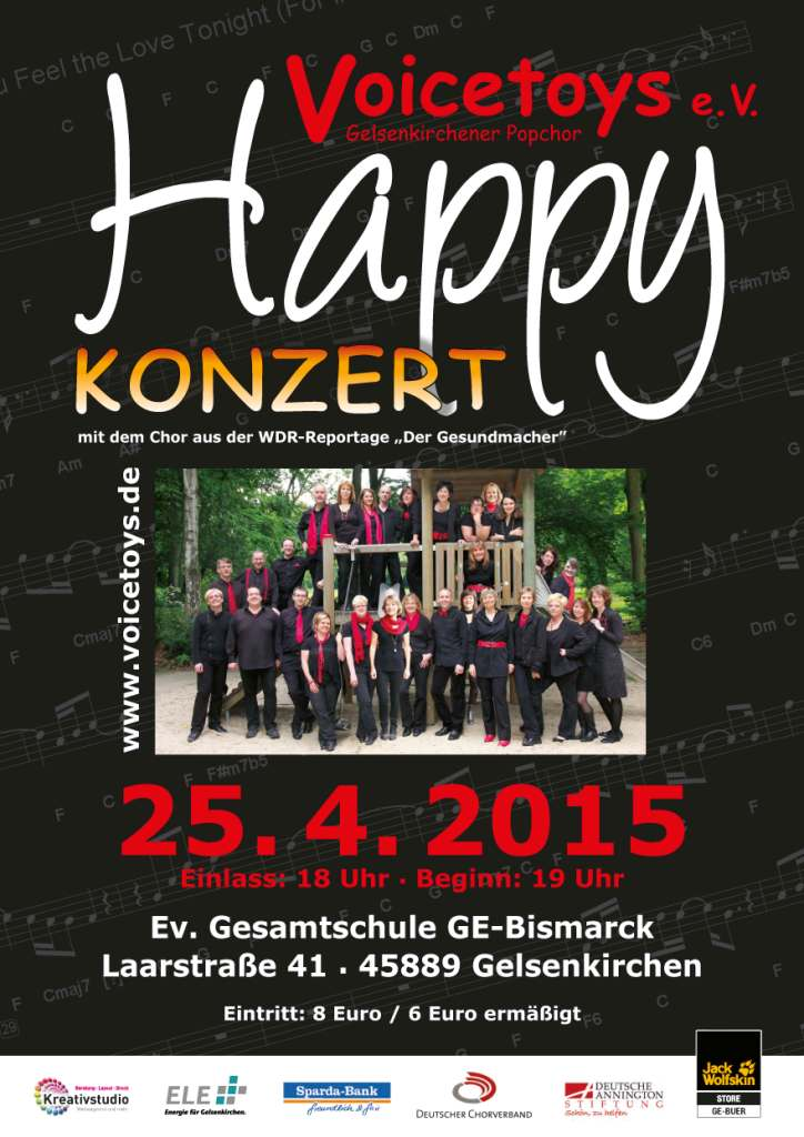 Plakat KOnzert April 2015