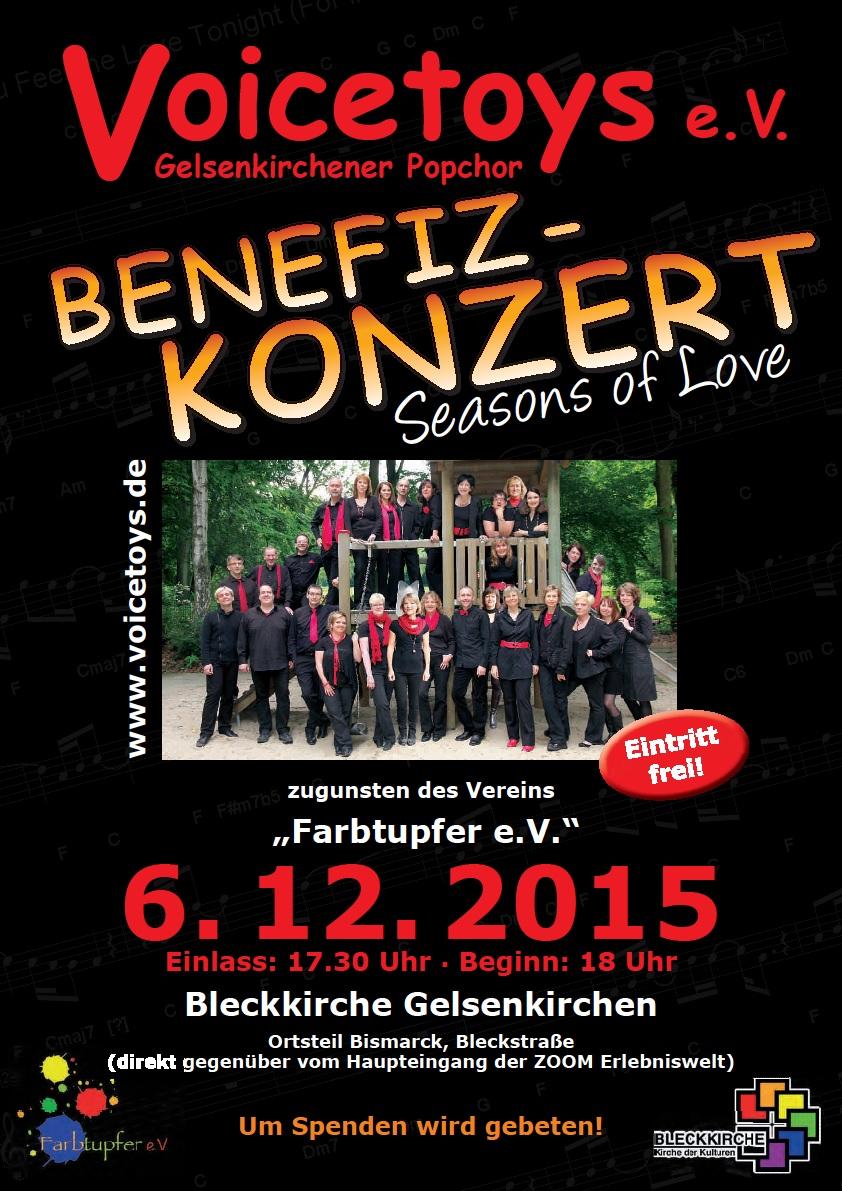 Plakat Konzert Dezember 2015